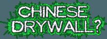 Corrosive Drywall